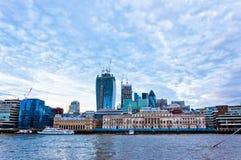 Σύγχρονοι ουρανοξύστες στο Λονδίνο, UK Στοκ Εικόνες