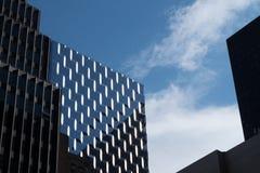 Σύγχρονοι ουρανοξύστες του Μανχάταν Στοκ εικόνα με δικαίωμα ελεύθερης χρήσης