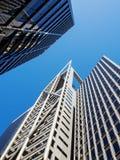 Σύγχρονοι ουρανοξύστες στοκ εικόνα με δικαίωμα ελεύθερης χρήσης