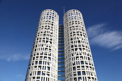 Σύγχρονοι πύργοι γραφείων Algeciras Στοκ Φωτογραφία