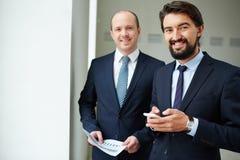 Σύγχρονοι υπάλληλοι Στοκ εικόνα με δικαίωμα ελεύθερης χρήσης
