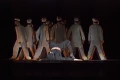 Σύγχρονοι χορευτές Στοκ Φωτογραφία