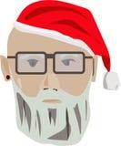 Σύγχρονος Άγιος Βασίλης ελεύθερη απεικόνιση δικαιώματος