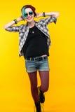 σύγχρονος έφηβος χρώμα/ζωηρόχρωμο hairstyle Στοκ φωτογραφίες με δικαίωμα ελεύθερης χρήσης