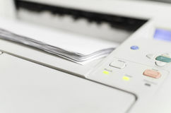 Σύγχρονος αεριωθούμενος εκτυπωτής λέιζερ Στοκ φωτογραφία με δικαίωμα ελεύθερης χρήσης