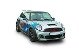 σύγχρονος αθλητισμός αυτοκινήτων Δημοφιλές βρετανικό αυτοκίνητο στοκ εικόνες