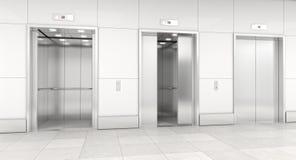Σύγχρονος ανελκυστήρας τρισδιάστατος Στοκ φωτογραφίες με δικαίωμα ελεύθερης χρήσης
