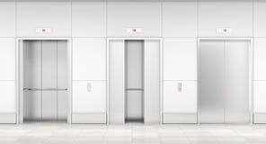 Σύγχρονος ανελκυστήρας τρισδιάστατος Στοκ εικόνες με δικαίωμα ελεύθερης χρήσης