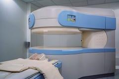 Σύγχρονος ανιχνευτής MRI στο νοσοκομείο Στοκ εικόνα με δικαίωμα ελεύθερης χρήσης