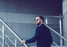Σύγχρονος αρσενικός επιχειρηματίας Στοκ Φωτογραφία
