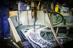 Σύγχρονος βιομηχανικός τόρνος Στοκ εικόνα με δικαίωμα ελεύθερης χρήσης