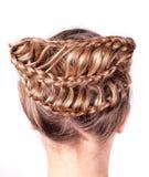 Σύγχρονος γάμος hairstyle Στοκ Εικόνες