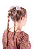 Σύγχρονος γάμος hairstyle Στοκ εικόνα με δικαίωμα ελεύθερης χρήσης