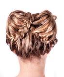 Σύγχρονος γάμος hairstyle στοκ φωτογραφία με δικαίωμα ελεύθερης χρήσης