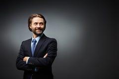 Σύγχρονος επιχειρηματίας Στοκ φωτογραφία με δικαίωμα ελεύθερης χρήσης