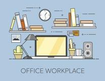 Σύγχρονος εργασιακός χώρος στην αρχή Άνετο εσωτερικό Υπουργείων Εσωτερικών Εργασιακός χώρος Offiice Στοκ εικόνες με δικαίωμα ελεύθερης χρήσης