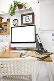 Σύγχρονος δημιουργικός χώρος εργασίας. Στοκ φωτογραφίες με δικαίωμα ελεύθερης χρήσης