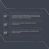 Σύγχρονος διανυσματικός infographic στο σκοτεινό υπόβαθρο μπορέστε διανυσματική απεικόνιση