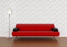 σύγχρονος καναπές Στοκ εικόνα με δικαίωμα ελεύθερης χρήσης