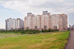 Σύγχρονος κατοικημένος σύνθετος σε Astana Καζακστάν στοκ φωτογραφίες με δικαίωμα ελεύθερης χρήσης