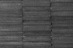 Σύγχρονος μαύρος τουβλότοιχος Στοκ φωτογραφίες με δικαίωμα ελεύθερης χρήσης