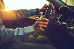 Σύγχρονος οδηγός αυτοκινήτων Στοκ Εικόνα