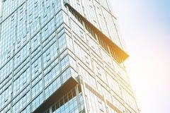 Σύγχρονος ουρανοξύστης γυαλιού Στοκ Φωτογραφίες