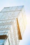 Σύγχρονος ουρανοξύστης γυαλιού Στοκ Φωτογραφία