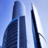 σύγχρονος ουρανοξύστης  Στοκ φωτογραφίες με δικαίωμα ελεύθερης χρήσης