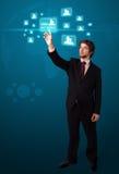 σύγχρονος πατώντας κοιν&omega Στοκ εικόνα με δικαίωμα ελεύθερης χρήσης
