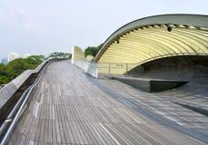 σύγχρονος πεζός γεφυρών Στοκ φωτογραφίες με δικαίωμα ελεύθερης χρήσης