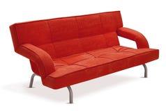 σύγχρονος πορτοκαλής καναπές στοκ φωτογραφία με δικαίωμα ελεύθερης χρήσης
