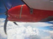 Σύγχρονος προωστήρας αεροπλάνων Στοκ εικόνες με δικαίωμα ελεύθερης χρήσης