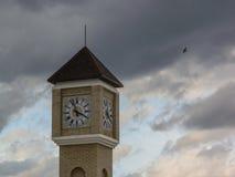 Σύγχρονος πύργος ρολογιών στην περιοχή Kaluga της Ρωσίας Στοκ εικόνες με δικαίωμα ελεύθερης χρήσης