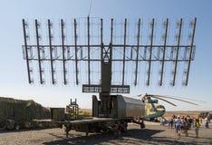 Σύγχρονος ρωσικός στρατιωτικός κινητός σταθμός 1L119 ραντάρ στοκ εικόνες με δικαίωμα ελεύθερης χρήσης