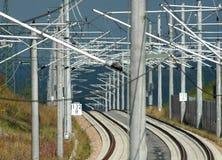Σύγχρονος σιδηρόδρομος Ι Στοκ φωτογραφία με δικαίωμα ελεύθερης χρήσης