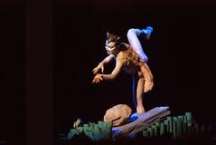 Σύγχρονος σόλο χορεψτε Στοκ φωτογραφίες με δικαίωμα ελεύθερης χρήσης