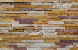 Σύγχρονος τραχύς τοίχος σύστασης τούβλου, ζωηρόχρωμος τραχύς τουβλότοιχος backg Στοκ εικόνα με δικαίωμα ελεύθερης χρήσης