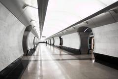 σύγχρονος υπόγειος σταθμών Στοκ Εικόνες