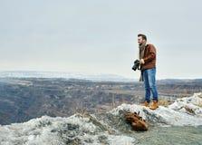 Σύγχρονος φωτογράφος Στοκ Φωτογραφίες