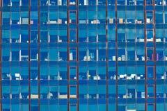 σύγχρονος χάλυβας ουρανοξυστών γραφείων γυαλιού λεπτομέρειας της Βαρκελώνης αρχιτεκτονικής Στοκ Εικόνες