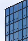 σύγχρονος χάλυβας ουρανοξυστών γραφείων γυαλιού λεπτομέρειας της Βαρκελώνης αρχιτεκτονικής Στοκ φωτογραφίες με δικαίωμα ελεύθερης χρήσης
