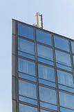 σύγχρονος χάλυβας ουρανοξυστών γραφείων γυαλιού λεπτομέρειας της Βαρκελώνης αρχιτεκτονικής Στοκ Εικόνα