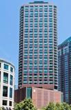 σύγχρονος χαρακτηριστικός οικοδόμησης Σικάγο στοκ φωτογραφίες με δικαίωμα ελεύθερης χρήσης