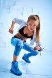 Σύγχρονος χορευτής γυναικών στοκ εικόνες με δικαίωμα ελεύθερης χρήσης