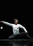 Σύγχρονος χορός: μαγική βούρτσα Στοκ Εικόνες