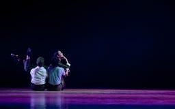 Σύγχρονος χορός: νεολαία γνώσης Στοκ φωτογραφία με δικαίωμα ελεύθερης χρήσης