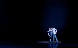 Σύγχρονος χορός: οι αδελφοί Στοκ Φωτογραφίες