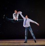 Σύγχρονος χορός: οι αδελφοί Στοκ φωτογραφίες με δικαίωμα ελεύθερης χρήσης