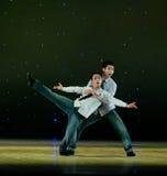 Σύγχρονος χορός: οι αδελφοί Στοκ Εικόνες